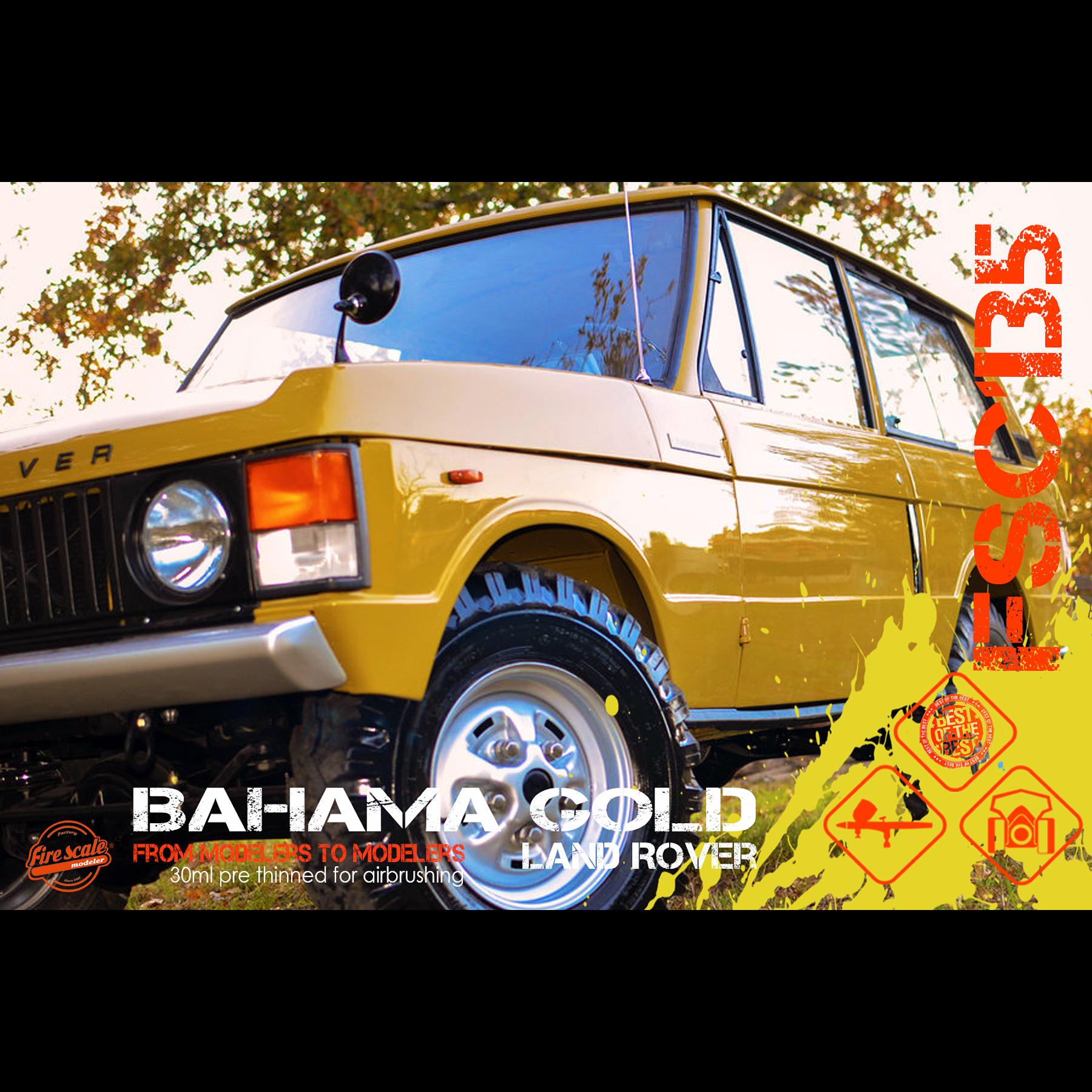 Land Rover Bahama Or