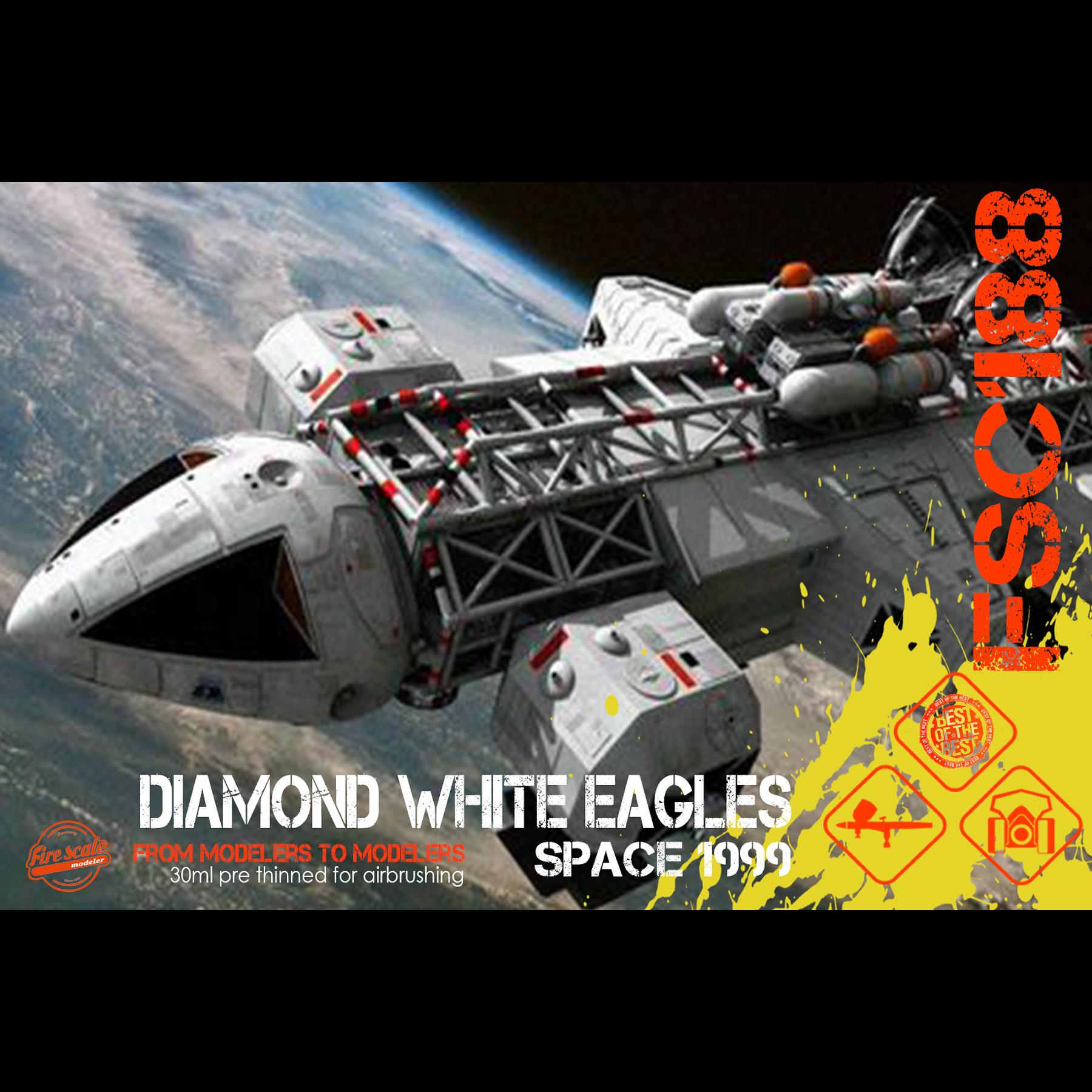 Diamond White Eagles Space 1999