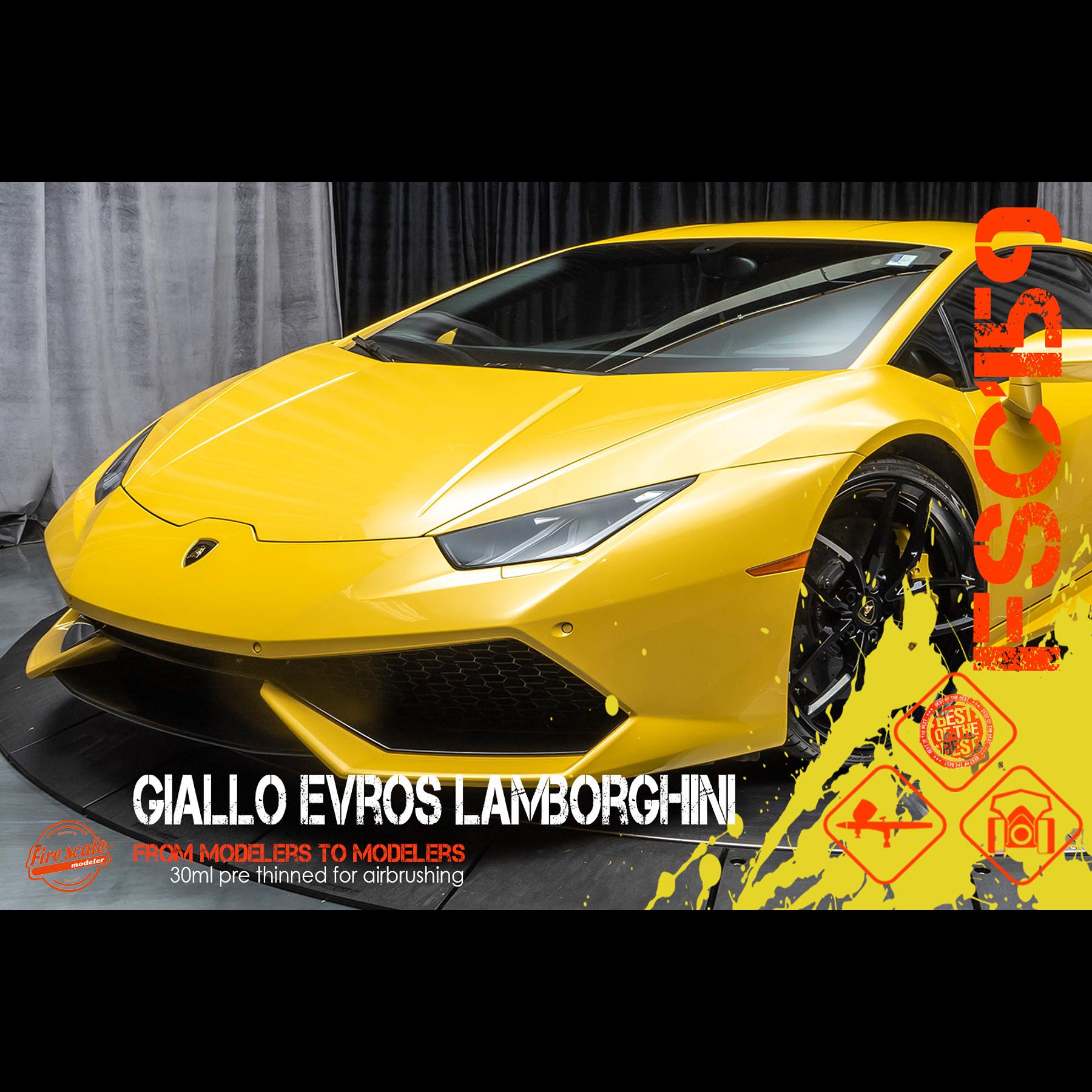Giallo Evros Lamborghini