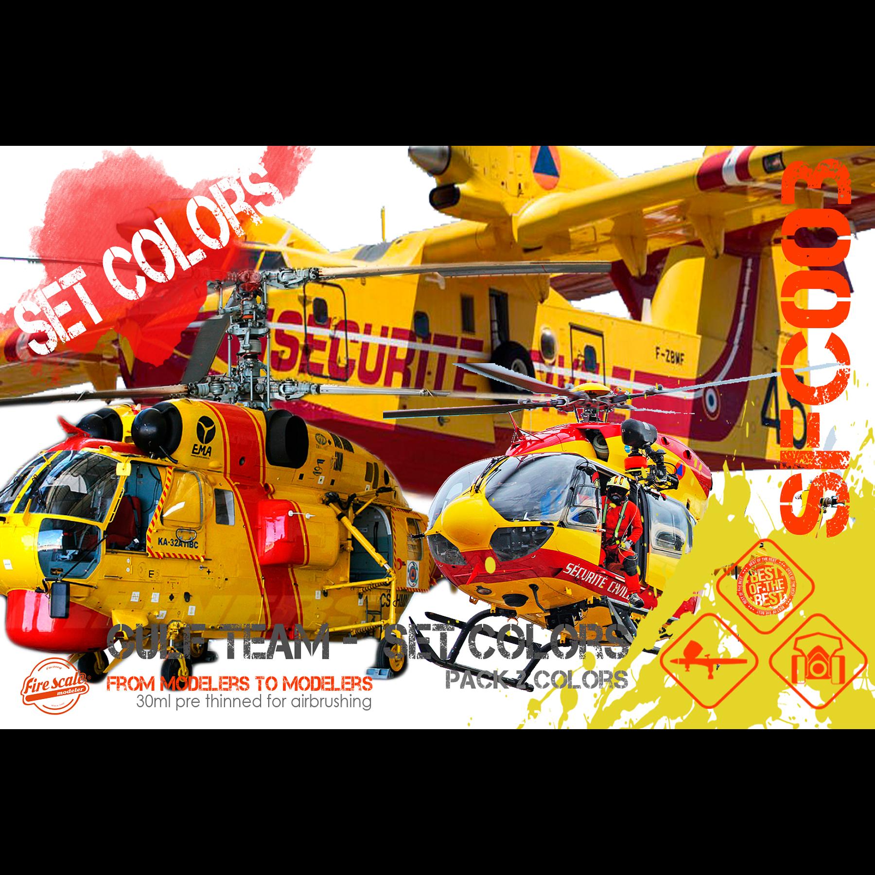 Emerg. Aircraft colors Set