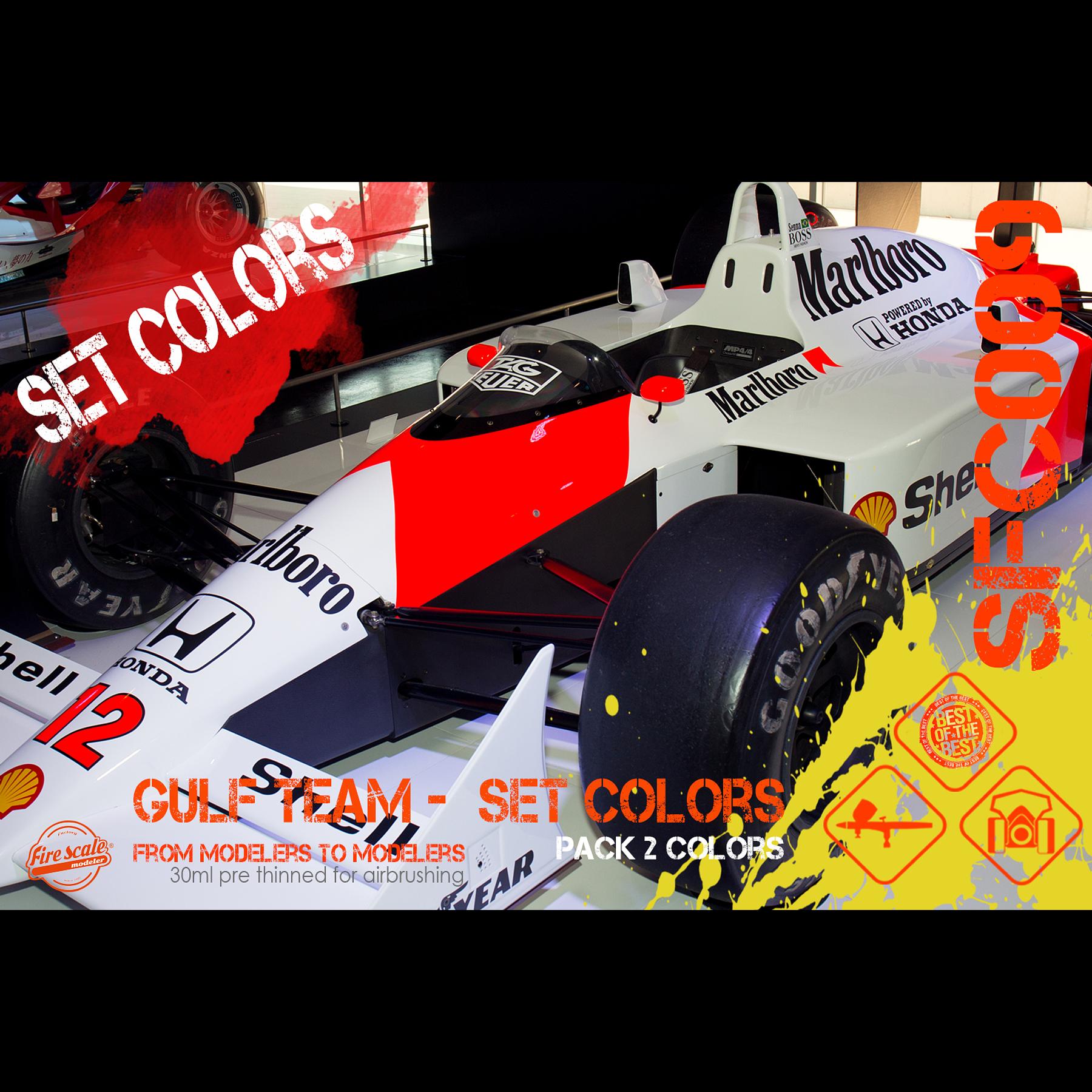 McLaren MP4 Set