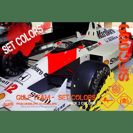 Ensemble McLaren MP4