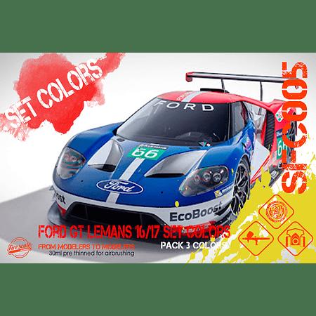 Ford GT Lemans 16-17 Set