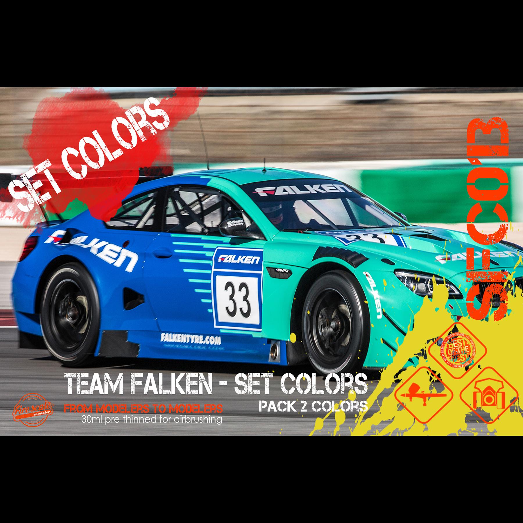 Team Falken Set Colors