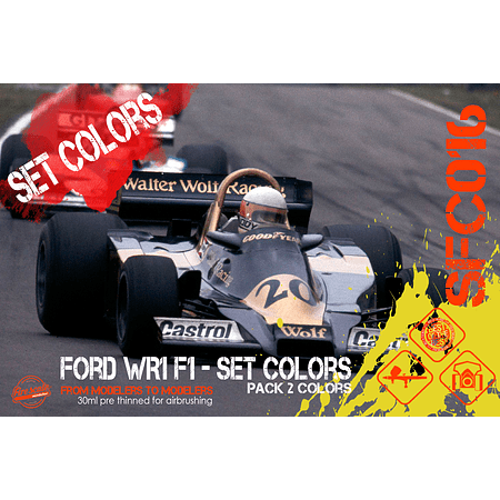 Ford WR1 F1 - Set Colors