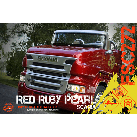 Red Ruby Pearl Scania
