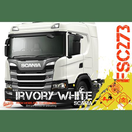 Irvory White Scania