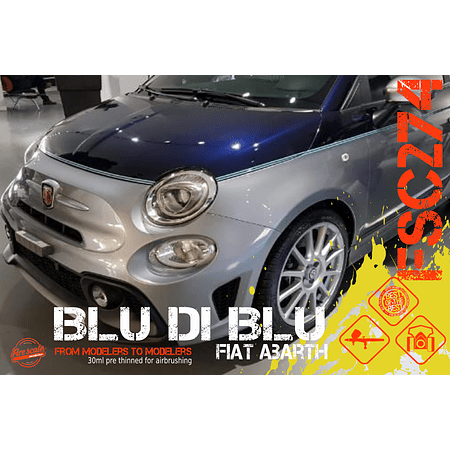 BLU DI BLU Fiat Abarth