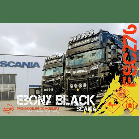Ebony Black Scania