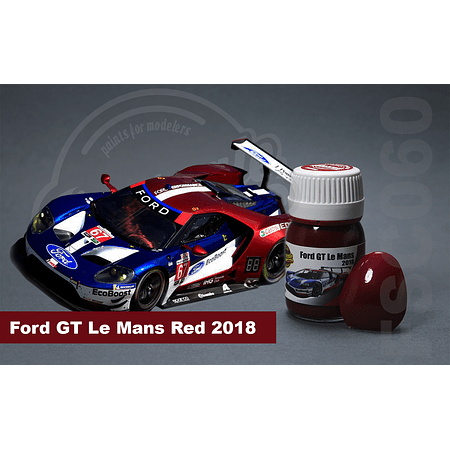 Ford GT Le mans 2018 Red