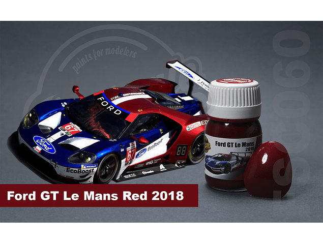 Ford GT Lemans 2018 Rojo