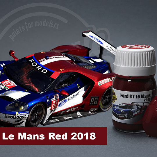 Ford GT Lemans 2018 Red