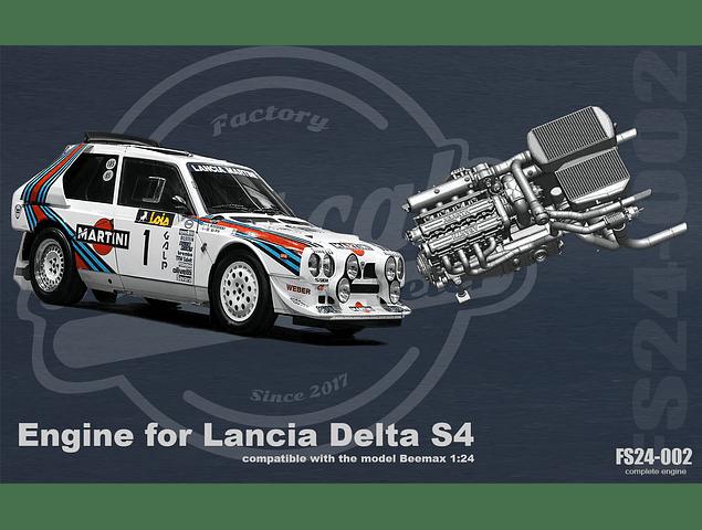 Moteur Lancia Delta S4 - 1:24