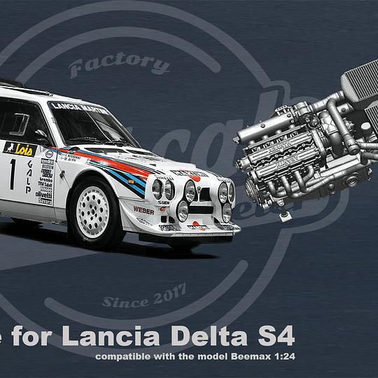 Engine Lancia Delta S4 - 1:24