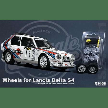 Roues Lancia Delta S4 - 1:24