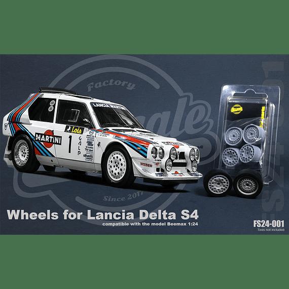 Jantes Lancia Delta S4 - 1:24