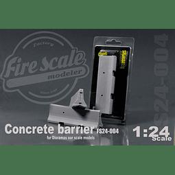 Concrete Barrier 1:24 Scale