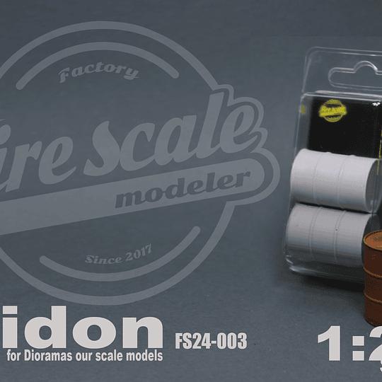 Bidon 1:24 Scale