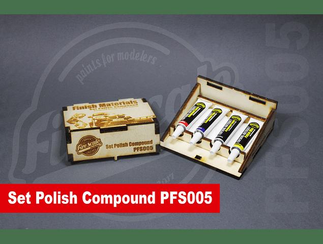 Conjunto de fuego compuesto polaco
