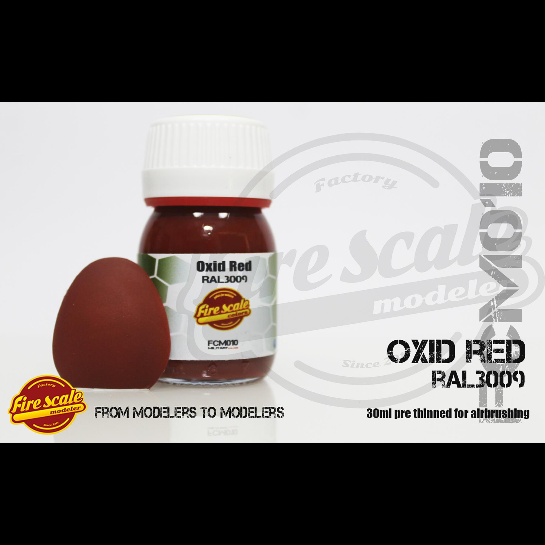 Rouge oxydé