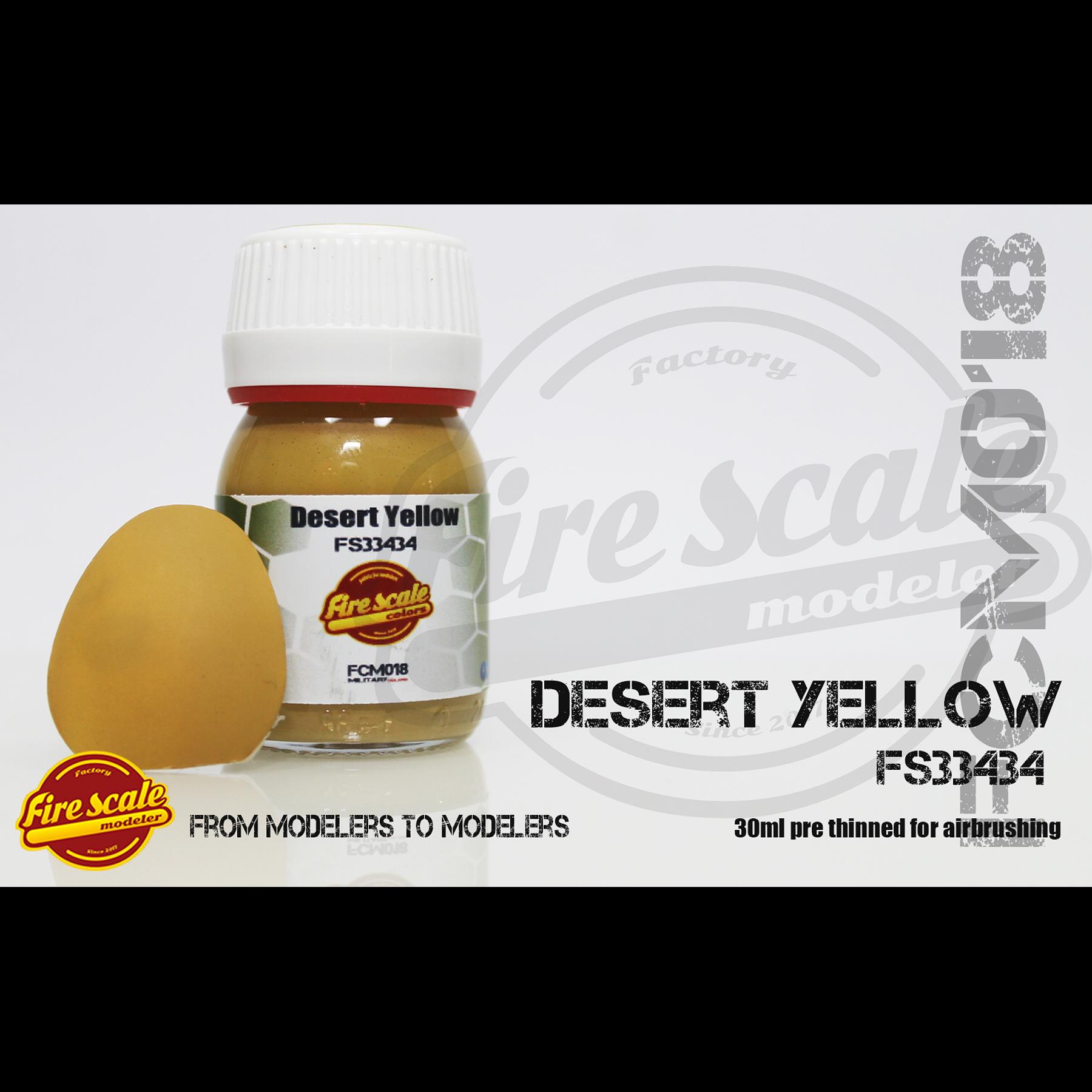 Desierto amarillo