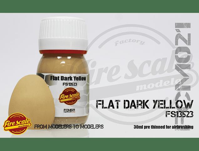 Amarillo oscuro plano