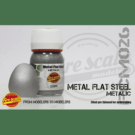 Metal plano de acero