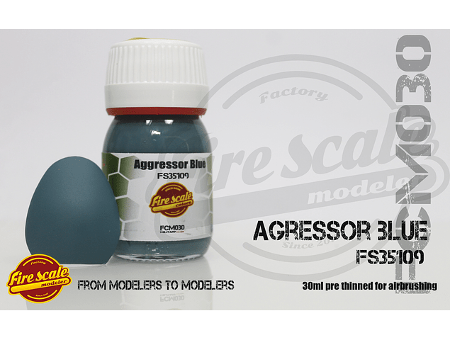 Agressor Blue