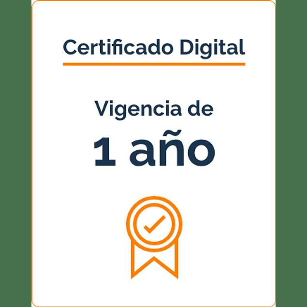 Firma Digital por 1 Año - BLACKXEL