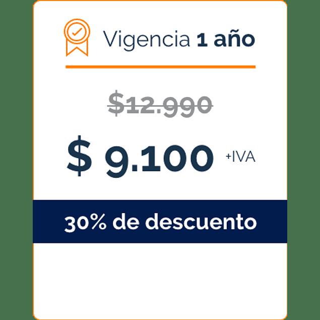 Firma Digital por 1 Año - BANCO DE CHILE