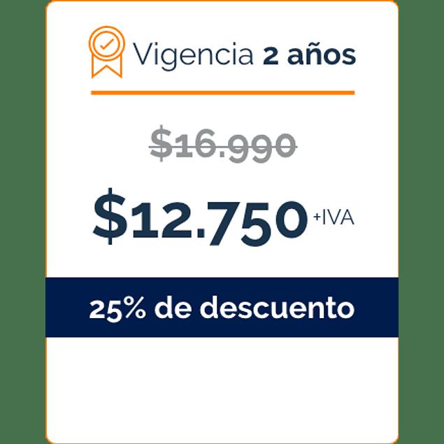 Firma Digital por 2 Años - BANCO DE CHILE