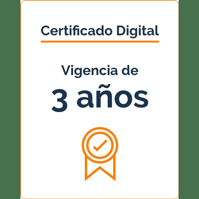 Firma Digital por 3 Años