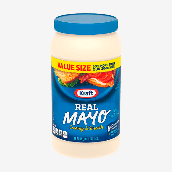 Mayonesa frasco Kraft de 1,42 lt