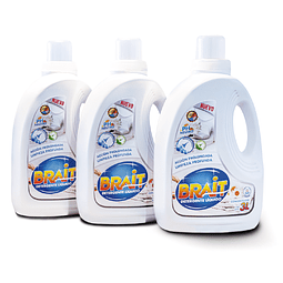Pack 3 Detergentes 3L Brait