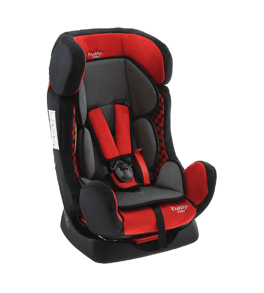 BUTACA DE AUTO BABY WAY RECLINABLE ROJA