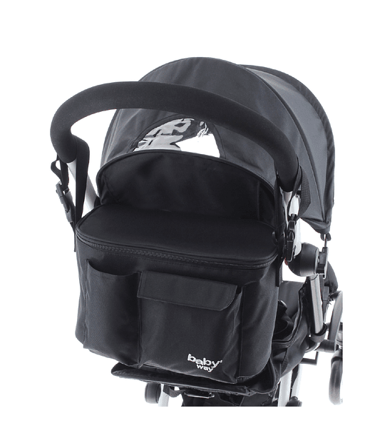 BOLSO MATERNAL COCHE BABY WAY BW-BAG25 NEGRO