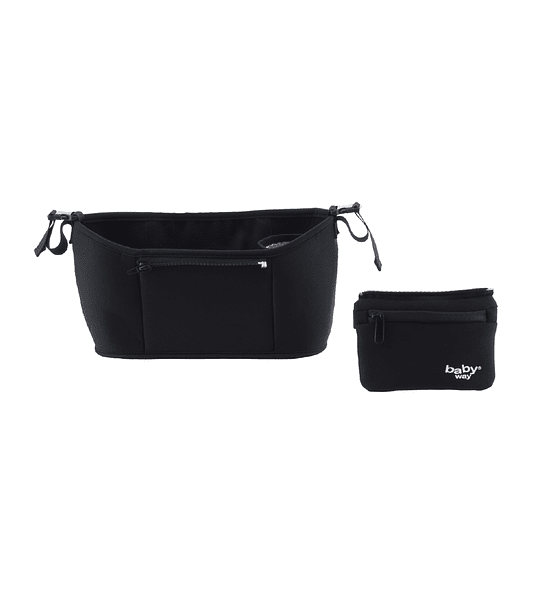 BOLSO MATERNAL COCHE BABY WAY NEGRO