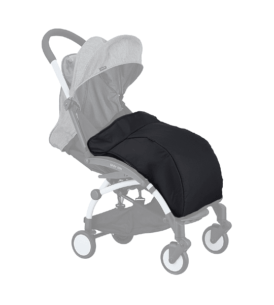 CUBRE PIE COCHE PARAGUAS BABY WAY NEGRO BW-CP01N19