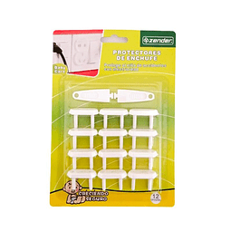 Pack protector enchufes 12 unidades