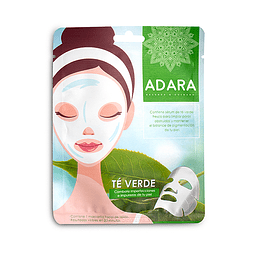 Pack de 24 mascarillas faciales Té Verde