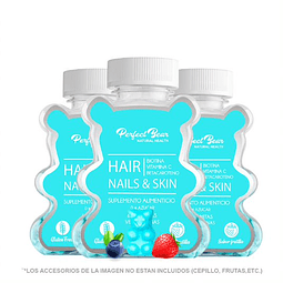 Suplemento Hair, Nails & Skin 3 meses
