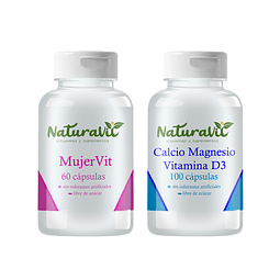 Pack Deportista mujer Naturavit