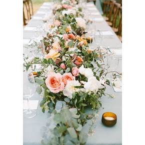 Workshop Camino de mesa (sin espuma floral) / 9 de Noviembre