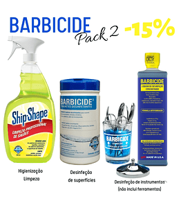 Pack Barbicide 2