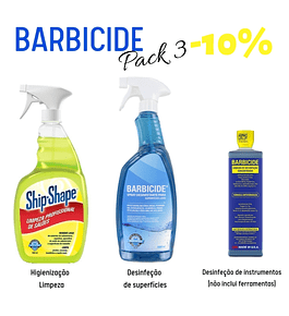 Pack Barbicide 3