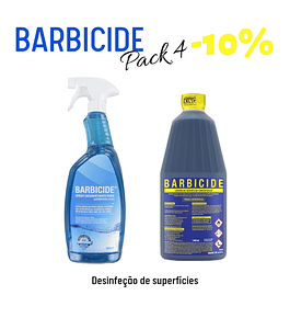 Pack Barbicide 4