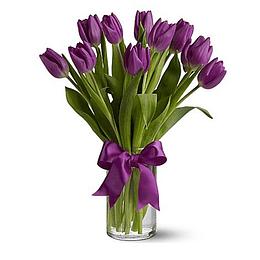 Florero 10 Tulipanes