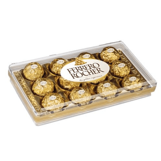 Ferrero Rocher Caja Acrilica 12 Unidades