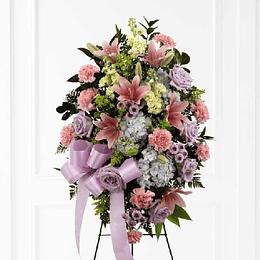 Atril de Flores con Cinta