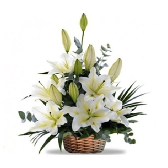 Canastillo de Liliums